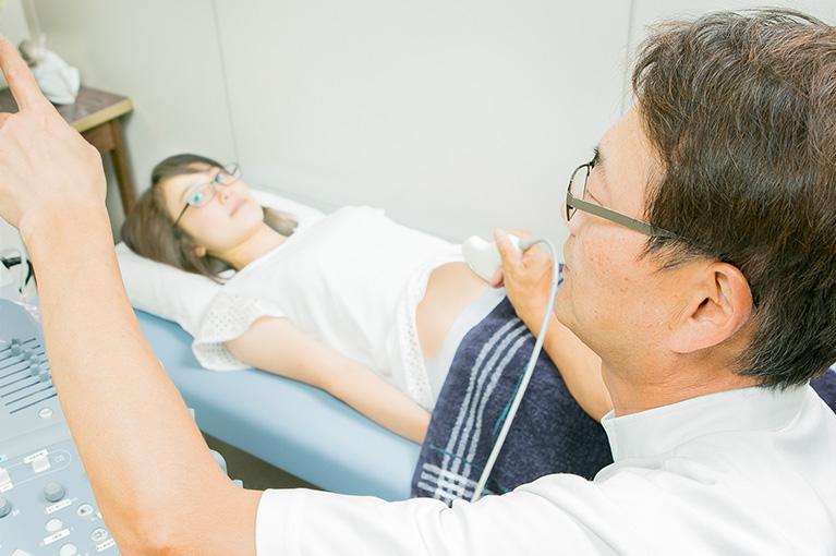 手術後の健診